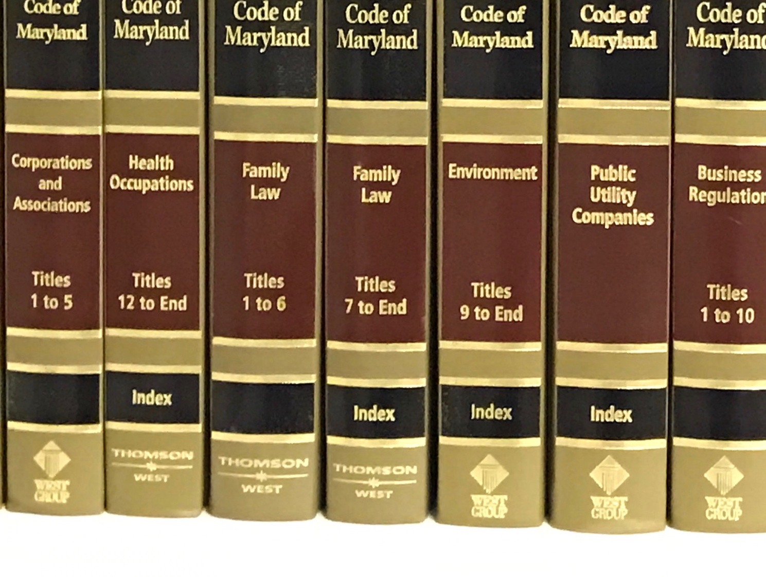 Maryland Family Law Books