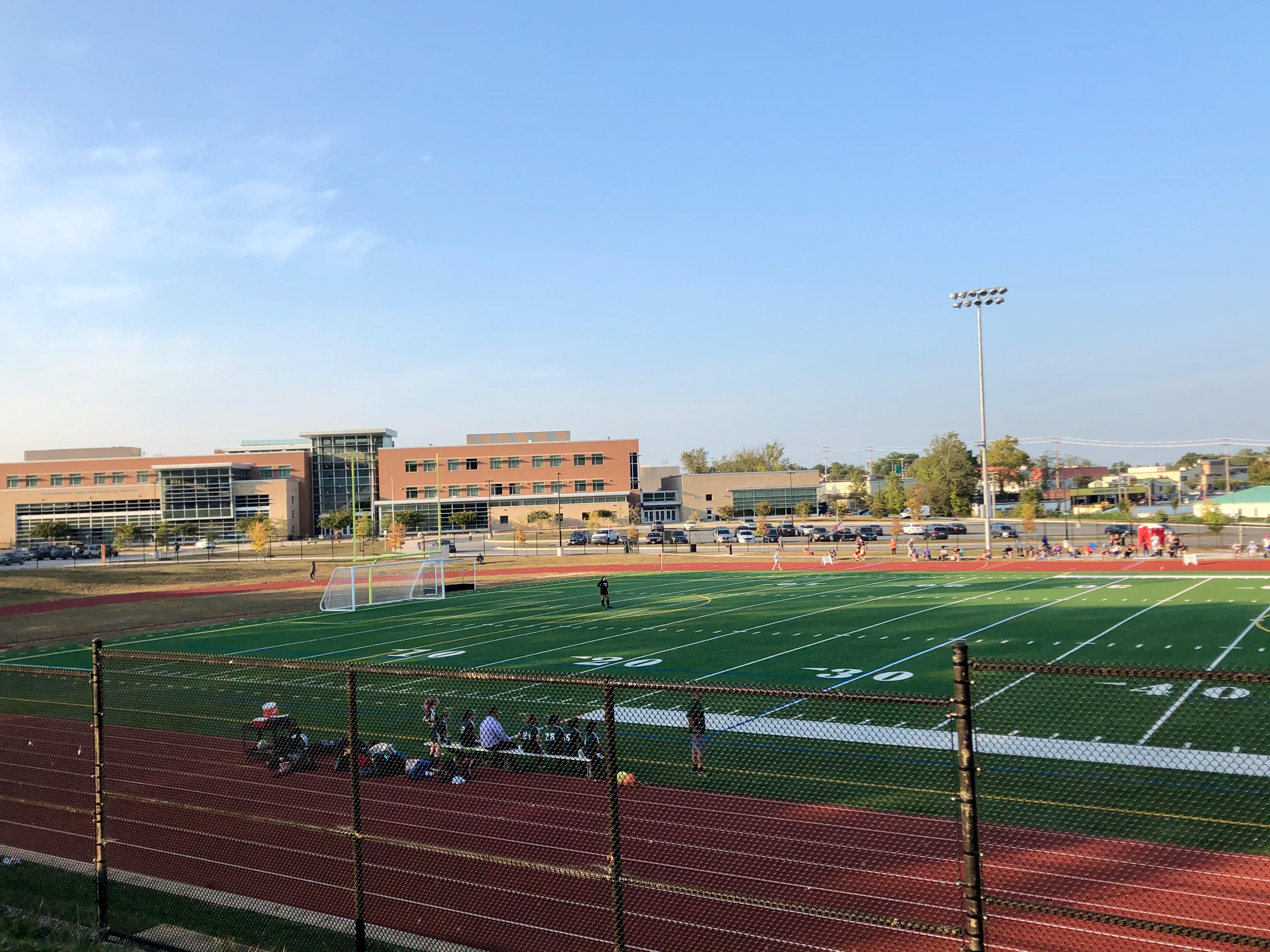 Child Custody Access at Sports Games at George Washington Carver High School